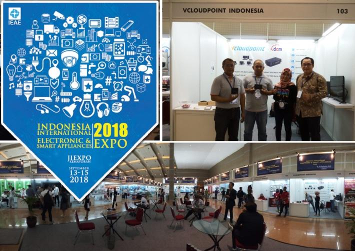 VCLOUDPOINT HADIR DI PAMERAN INDONESIA INTERNATIONAL ELECTRONIC & SMART APPLIANCES