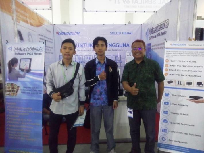Pameran vcloudpoint di JEC yogjakarta 30-4 Desember 2018